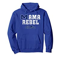 Ole Miss Rebels Mama Mascot T-shirt - Apparel Hoodie Royal Blue