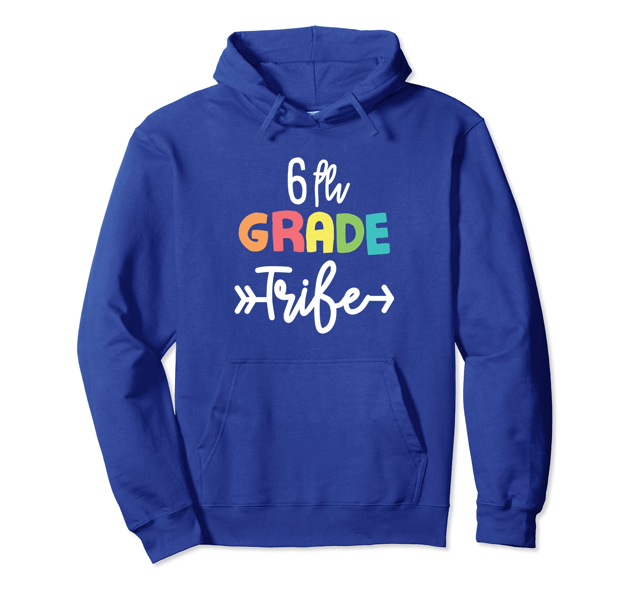 6th Sixth Grade Tribe Back To School Hoodie-Bawle