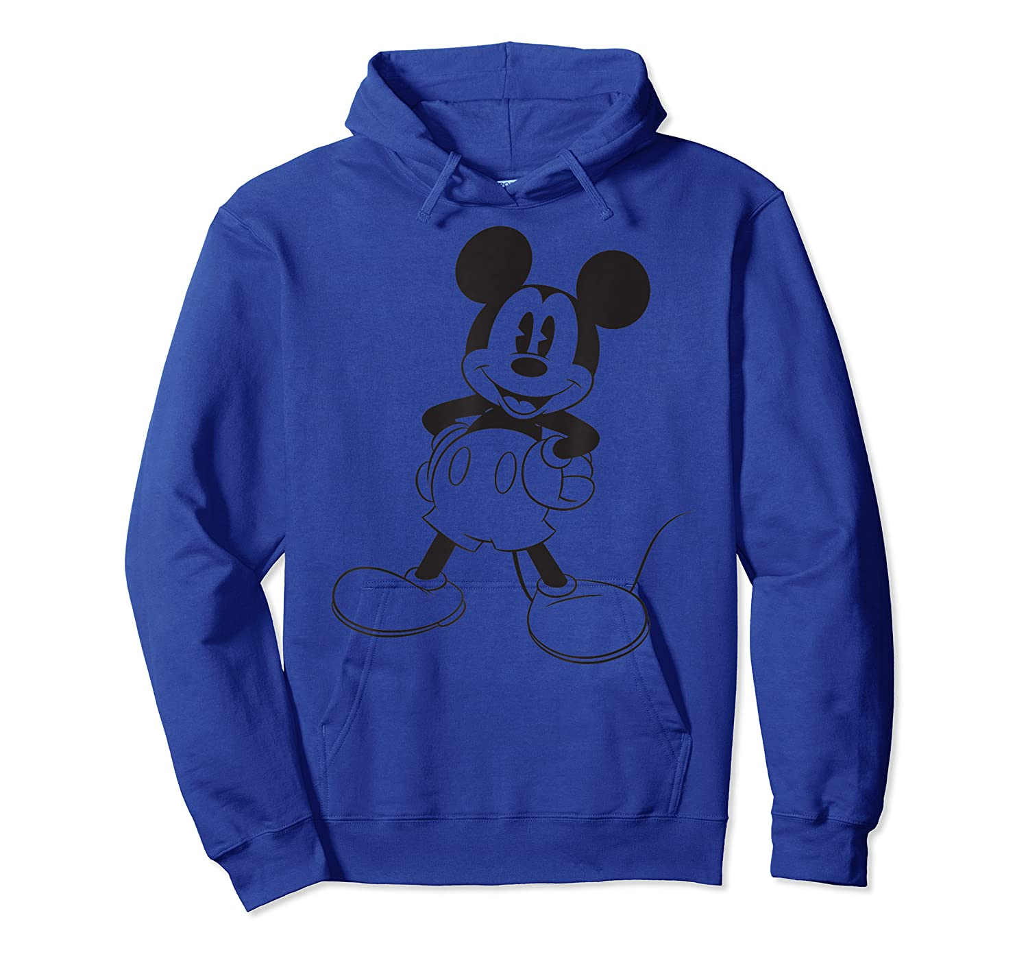 Disney Big Mickey Mouse T Shirt Unisex Pullover Hoodie