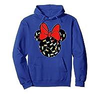 Disney Minnie Lights Up T Shirt Hoodie Royal Blue