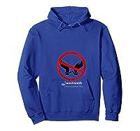 Black Freedom T-shirt Hoodie Royal Blue