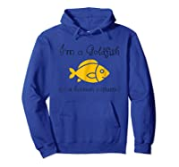 I\'m A In A Human Costume Funny Pet Shirt Hoodie Royal Blue