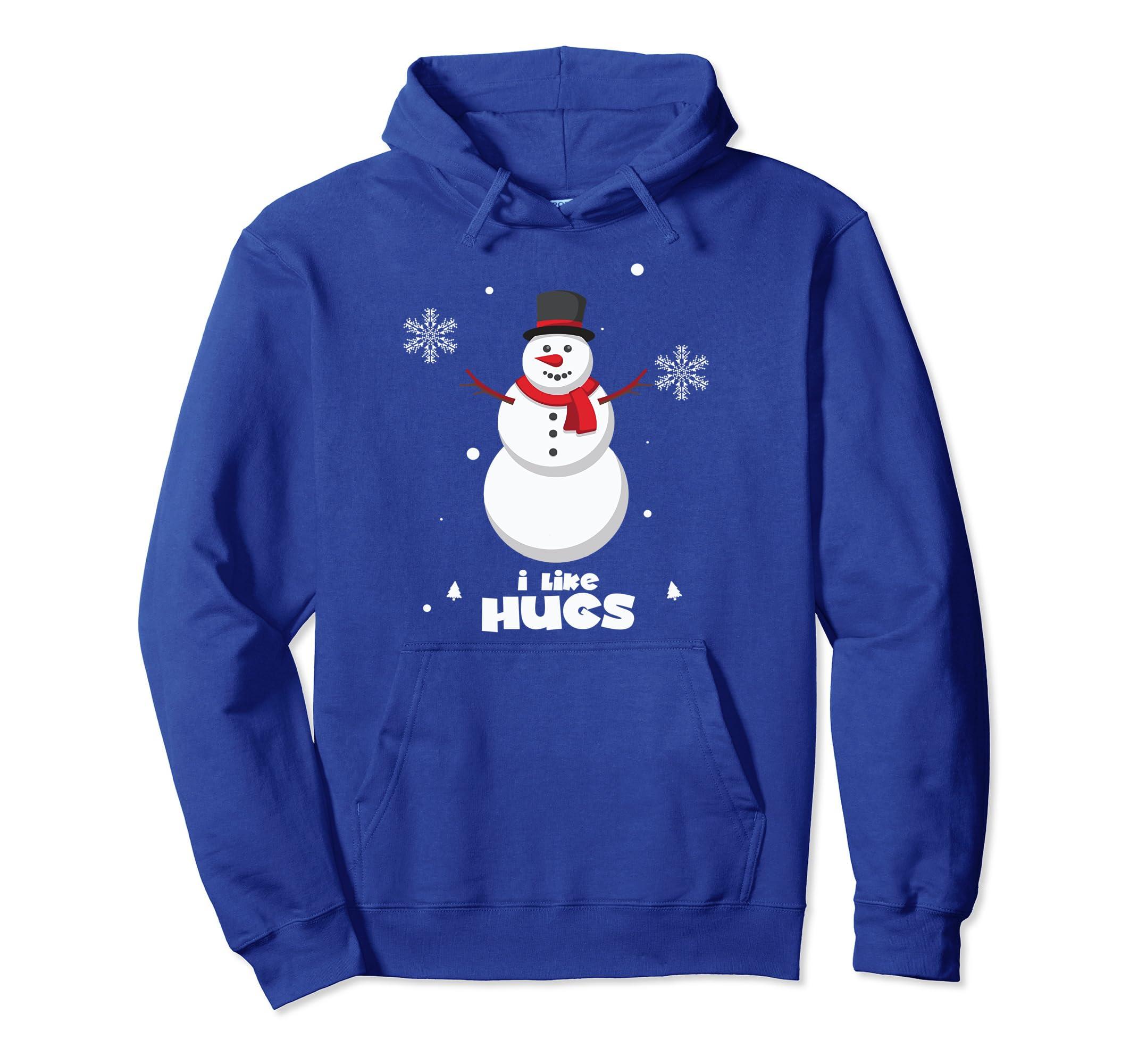 Snowman Christmas Hoodie Xmas Gifts