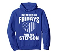 Deployed Stepson Homecoming Shirts Hoodie Royal Blue