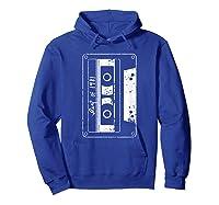 Vintage Best Of 1981 80s Tape Cassette Funny Dj Shirts Hoodie Royal Blue