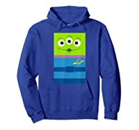 Pixar Toy Story Alien Little Green Shirts Hoodie Royal Blue