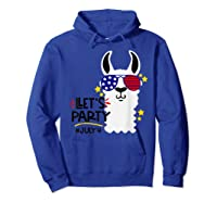 Funny Patriotic Independence Day Shirts Hoodie Royal Blue