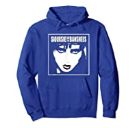 Siouxsie And The Banshees Siouxsie Sioux T Shirt Hoodie Royal Blue