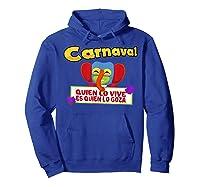 Carnaval De Barranquilla Marimonda T Shirt Hoodie Royal Blue