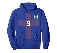 England Soccer Football 2018 Away Shirts Hoodie Royal Blue