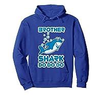 Baby Shark Doo Doo Doo Boy Family Brother Shark Shirts Hoodie Royal Blue