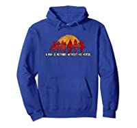 Red Horse Sunset T Shirt Nothing Without His Horse Hoodie Royal Blue