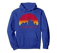 Retro Vintage Manchester City New Hampshire Designs Shirts Hoodie Royal Blue