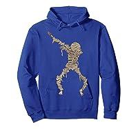 Dabbing Mummy Halloween Shirt Cute Preserved Human Dab Gift Hoodie Royal Blue