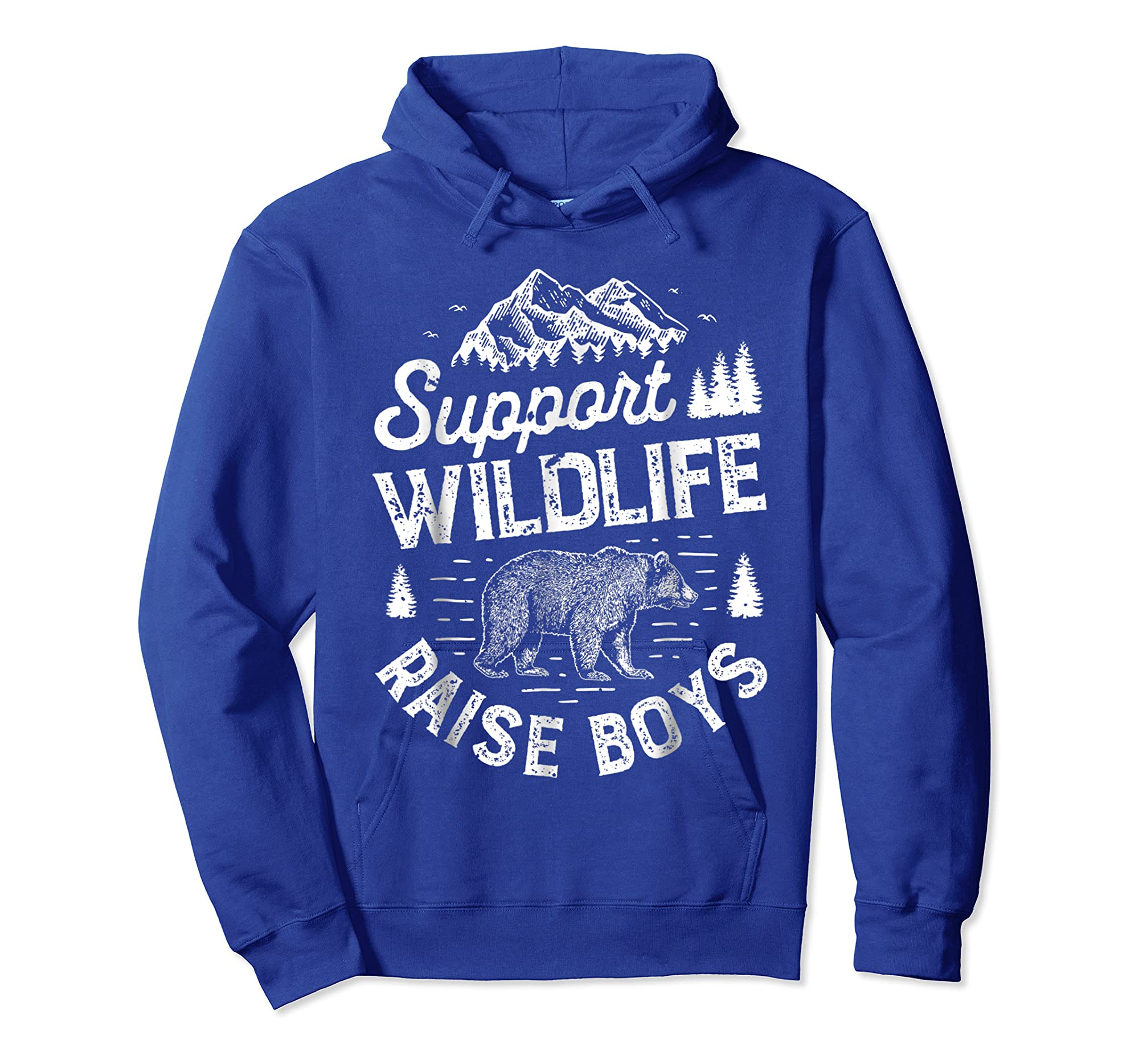 Top Selling Amazing Shirt Support Wildlife Raise T Shirt Mom Dad Mother Parents Hoodie Royal Blue