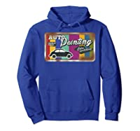 Auto Painting Old Stuff Rusty Sign T Shirt Gift For Pickers Hoodie Royal Blue