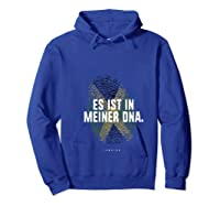 It's In My Dna Flag Shirt N Roots T-shirt Hoodie Royal Blue