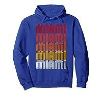 Miami Miami Miami T-shirt Hoodie Royal Blue
