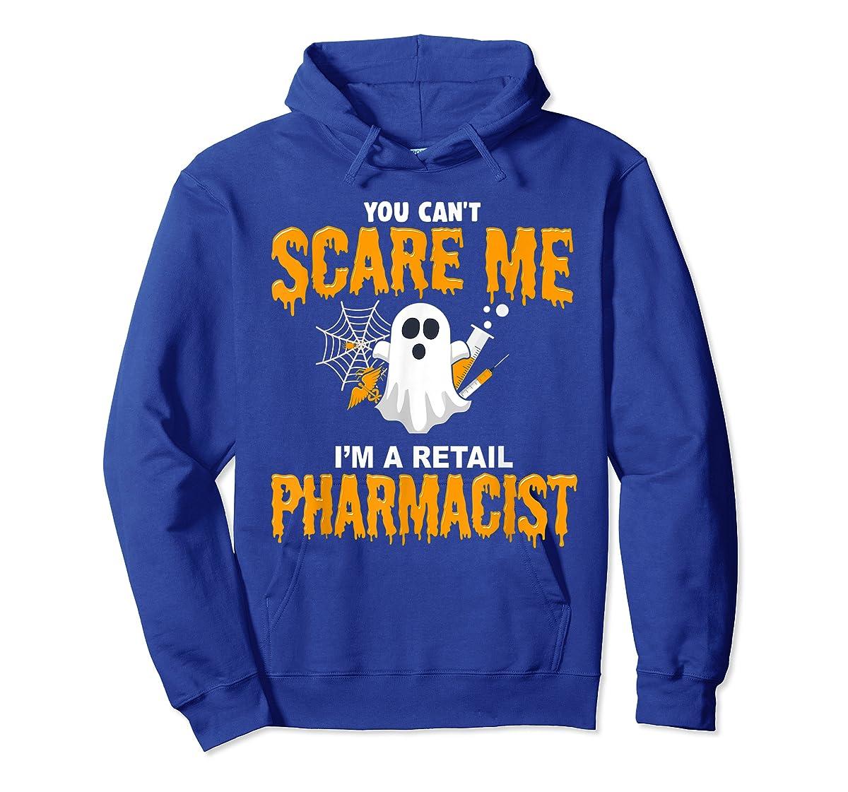 Halloween Costume Shirt I'm A Retail Pharmacist T-Shirt-Hoodie-Royal
