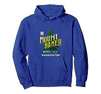 Mount Baker National Forest Retro Logo Washington Tank Top Shirts Hoodie Royal Blue