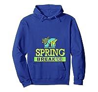 Best Of Mtv Spring Break 93 Classic Logo T-shirt Hoodie Royal Blue