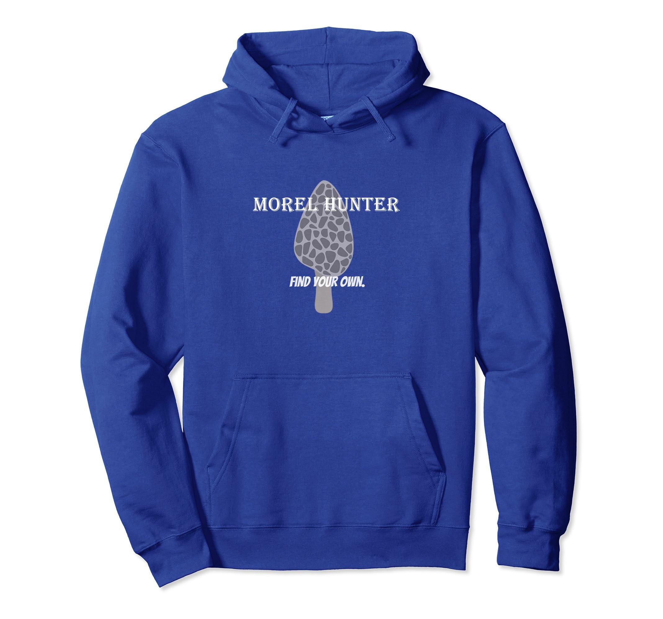 Funny Morel Mushroom Hunting Hoodie Sweatshirt