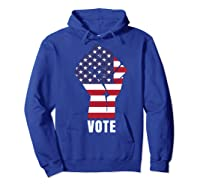 Vote Political Patriotic Rise Up And Vote Gift Shirts Hoodie Royal Blue