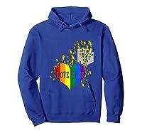 Love Wins Lgbtq Color Heart Pride Month Rally Shirt Tank Top Hoodie Royal Blue