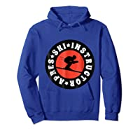 Apres Ski Skiing Instructor T Shirt Usa, France Lover Gift Hoodie Royal Blue