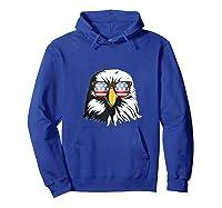 Patriotic Eagle American Flag Sunglasses Freedom Symbol Tank Top Shirts Hoodie Royal Blue
