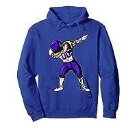 Football Dabbing T Shirt Funny Purple  Hoodie Royal Blue