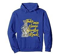 Roads To Hockey Country Fan Take Me Home Top Gift Tank Top Shirts Hoodie Royal Blue