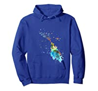 Little Prince Shirts Hoodie Royal Blue