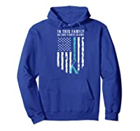 In This Family No One Fights Alone Allergy Awareness Support Raglan Baseball Ts Shirts Hoodie Royal Blue