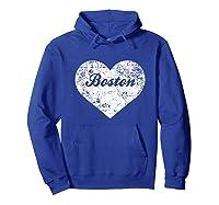 I Love Massachusetts Shirt Funny Cute Boston Gift Souvenir Hoodie Royal Blue