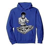 Bruce Dj By Bruce Shirts Hoodie Royal Blue