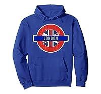 London Uk T Shirt Fun English British City Travel Gift Hoodie Royal Blue