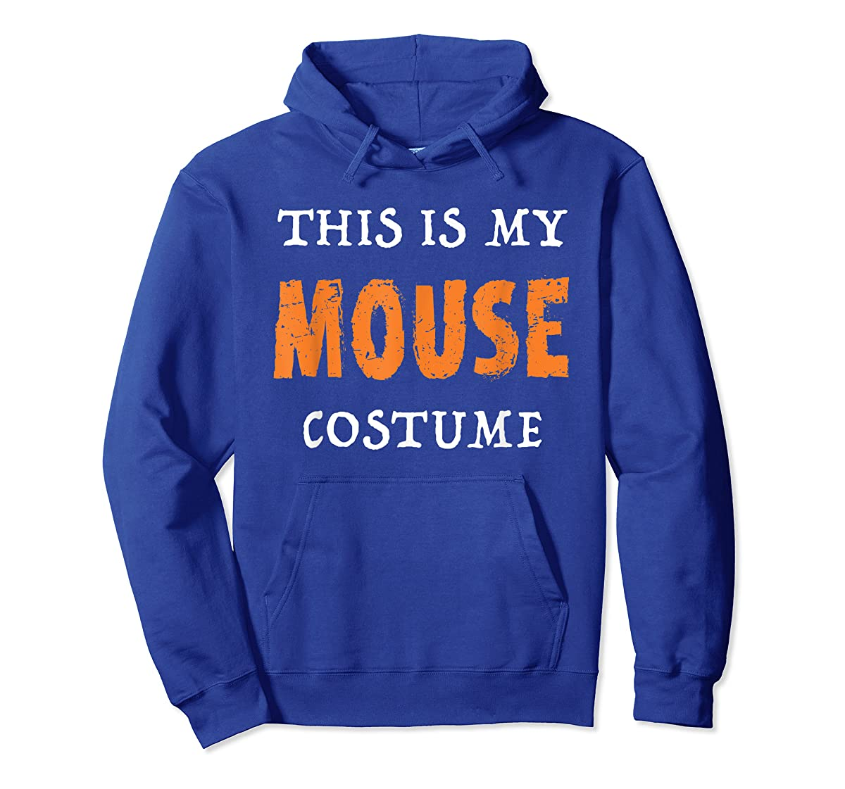 Funny This Is My Mouse Costume Halloween  T-Shirt-Hoodie-Royal
