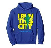 I Run This City Washington D C Apparel For Marathon Runner Shirts Hoodie Royal Blue