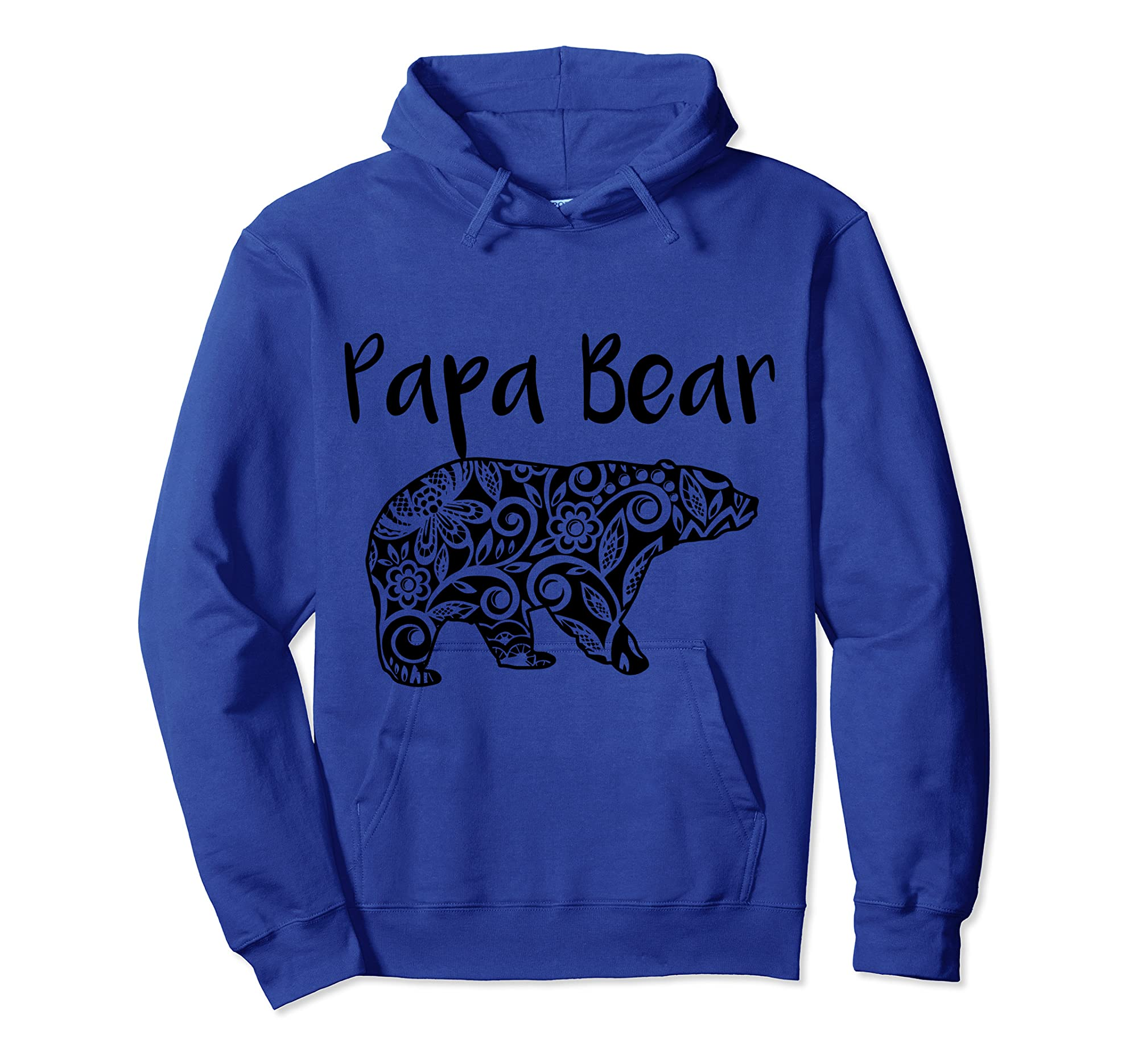 Fortuitous Dta Dta S Mama Papa Baby Bear Funny Family Matching Mother Day Ts Shirts Hoodie Royal Blue