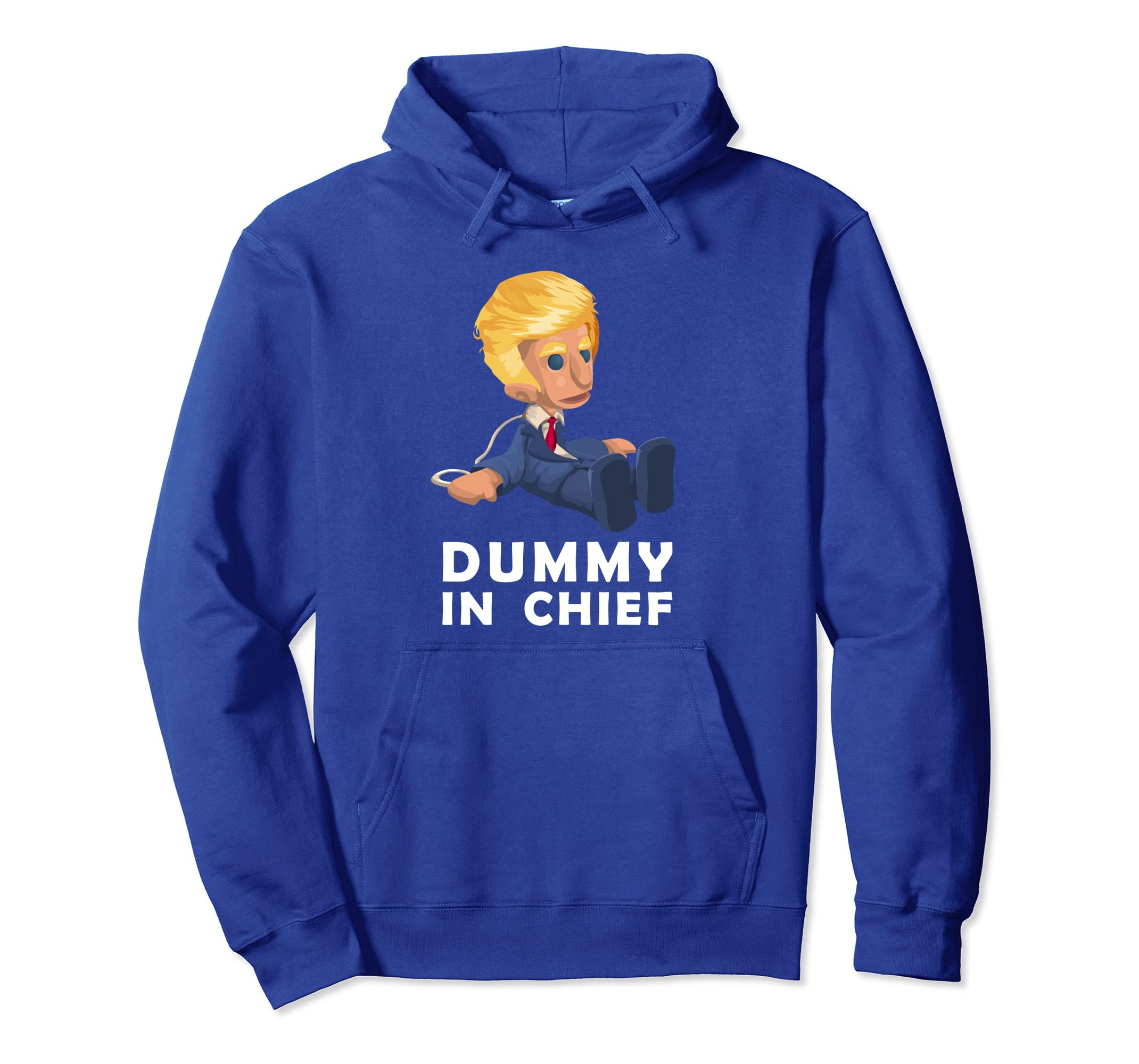 Anti Donald Trump Hoodie, Puppet In Chief Political Apparel