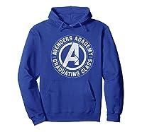 Marvel Avengers Academy Graduating Class Of 2019 Premium T-shirt Hoodie Royal Blue