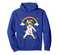 Lgbt Pride Month Unicorn Funny Rainbow Gay & Lesbian Gift Tank Top Shirts Hoodie Royal Blue
