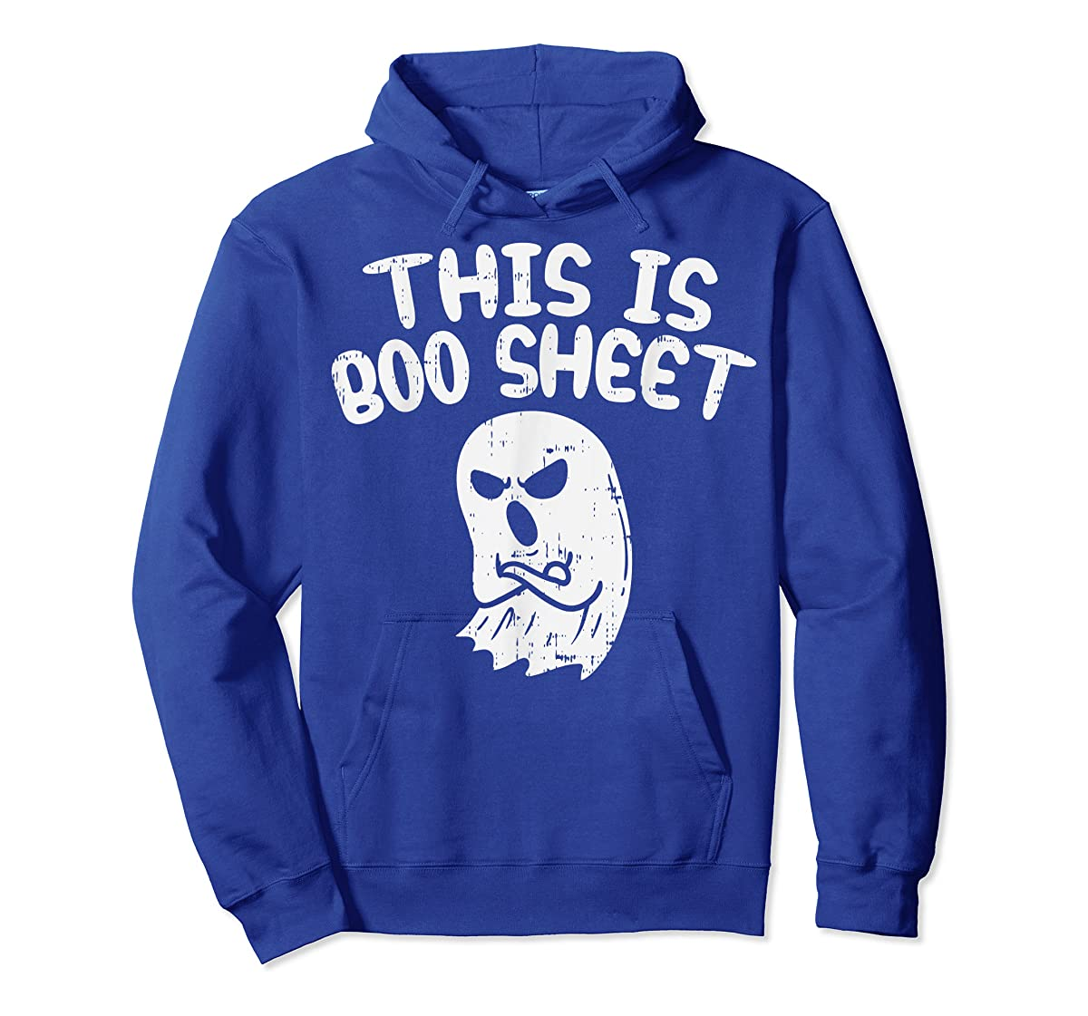 This Is Boo Sheet Ghost Pun Funny Halloween Costume Gift T-Shirt-Hoodie-Royal