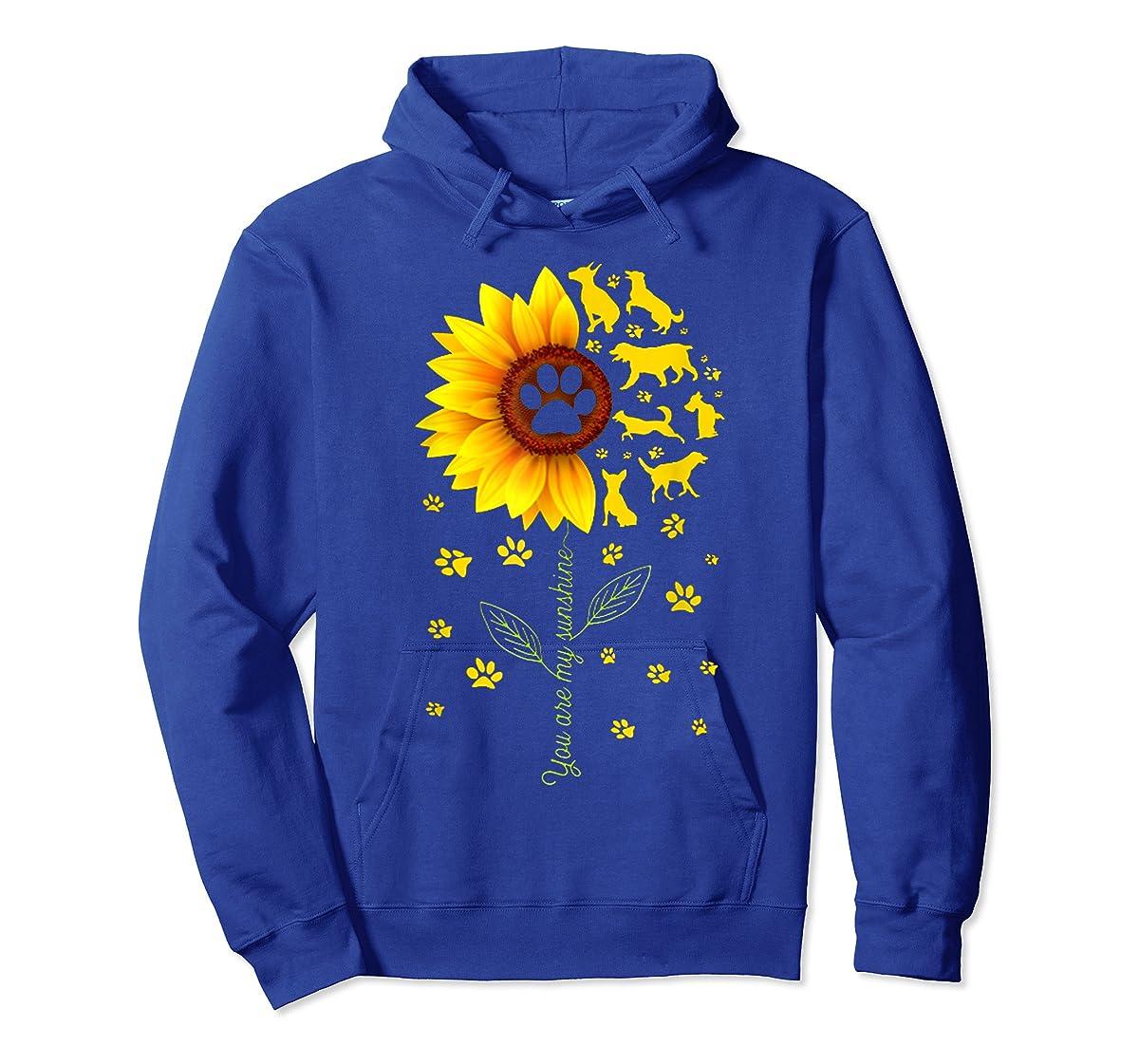 You are my Sunshine t-shirt-Hoodie-Royal