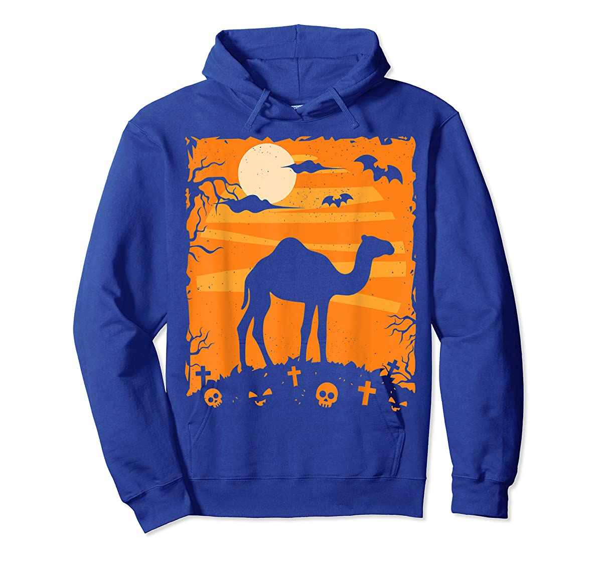 Camel Halloween Costume Animal Funny Pumpkin Outfit Gift T-Shirt-Hoodie-Royal