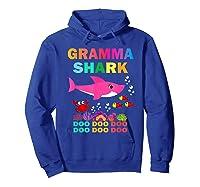 Gramma Shark, Fathers Day Gift Gramma Shark Doo Doo Do Shirts Hoodie Royal Blue