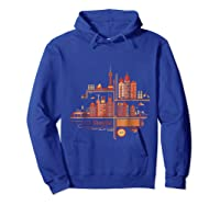 Shanghai Building S T Shirt Design Hoodie Royal Blue