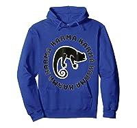 Chameleon Karma 80 S Retro 1980 S Pop Club Culture Shirts Hoodie Royal Blue