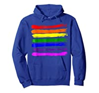 Barcode Gay Pride Lgbt Lesbian Bisexual Flag Gifts Shirts Hoodie Royal Blue